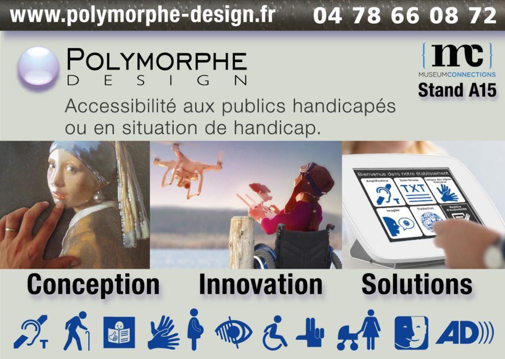 Polymorphe Design : accessibilité aux publics handicapés ou en situation de handicap
