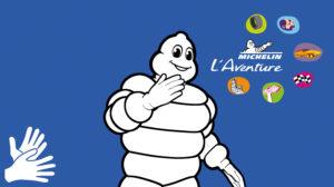À l'Aventure Michelin, même le légendaire Bibendum vous accueille en LSF !